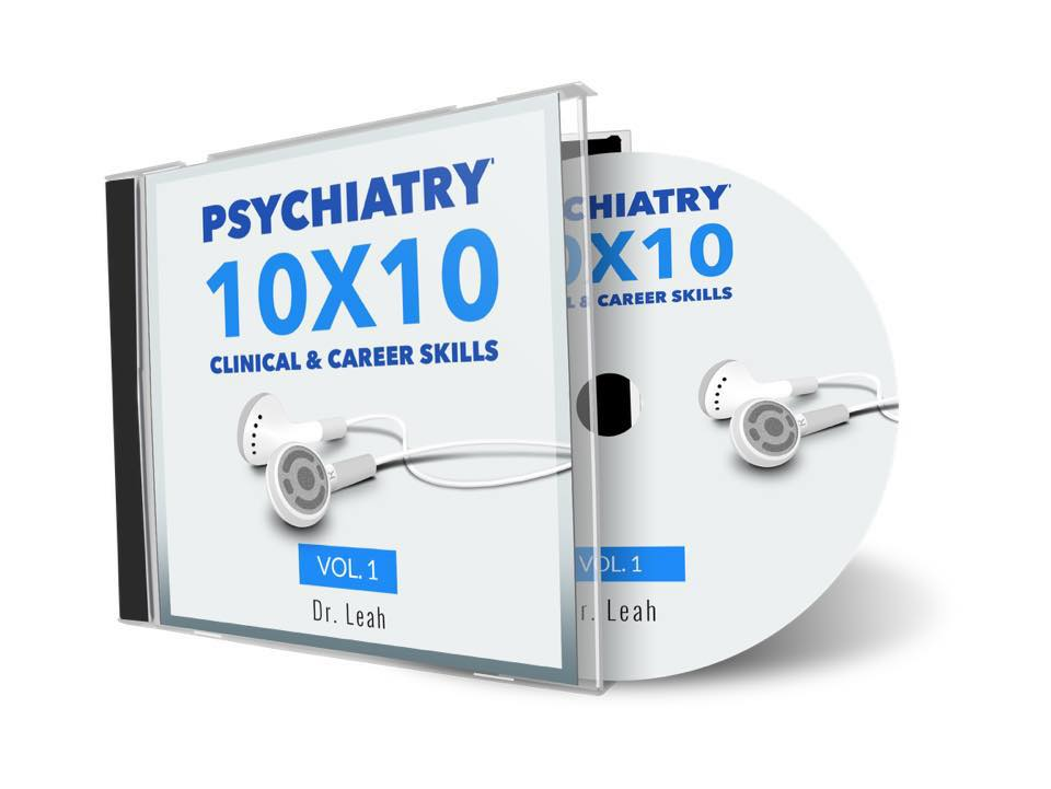 Psychiatry 10 by 10 Audio